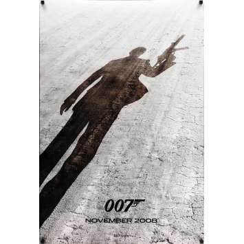 QUANTUM OF SOLACE advance Movie Poster 29x41 in. - 2008 - Marc Forster, Daniel Craig