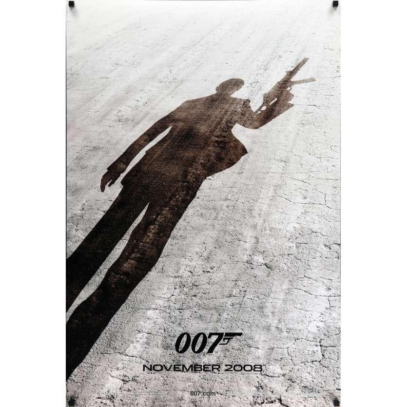 QUANTUM OF SOLACE Prev. Affiche de film 69x104 cm - 2008 - Daniel Craig, Marc Forster