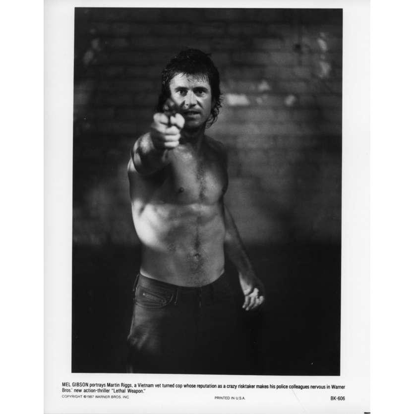L'ARME FATALE Photo de presse BK-606 20x25 cm - 1987 - Mel Gibson, Richard Donner