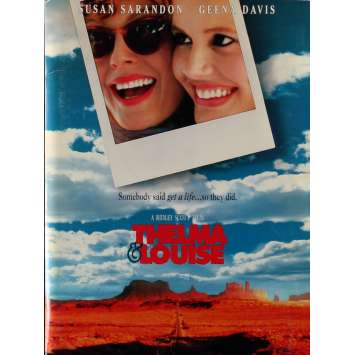 THELMA AND LOUISE Presskit 8x10 in. - 1991 - Ridley Scott, Geena Davis