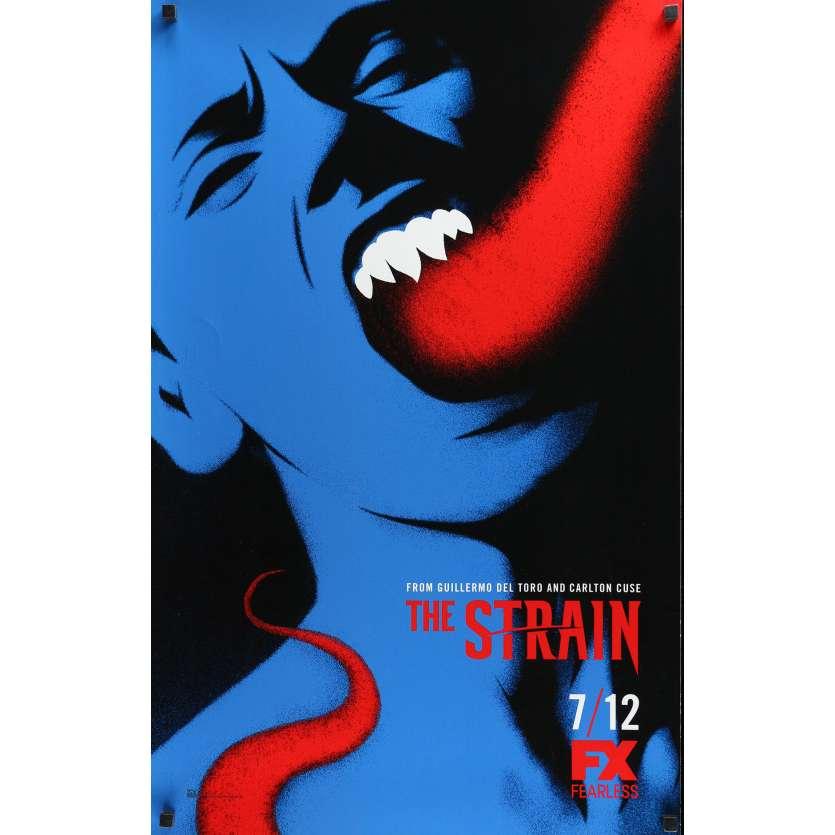 STRAIN TV Poster 21x33 in. - 2015 - Guillermo Del Toro, Chuck Hogan