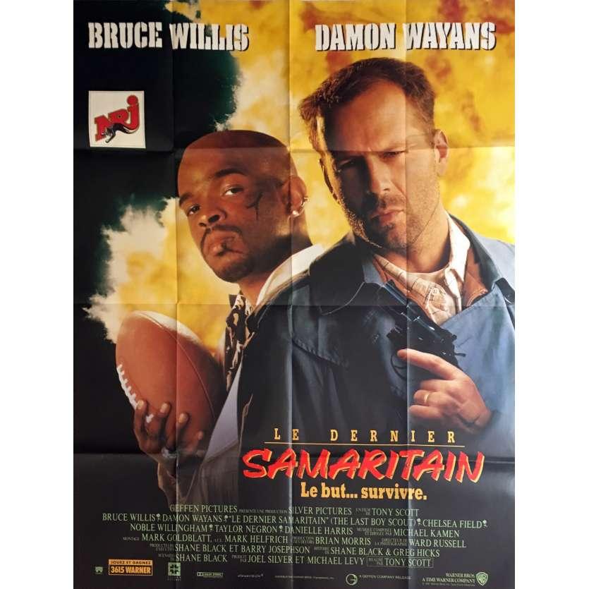 LE DERNIER SAMARITAIN Affiche de film 120x160 cm - 1991 - Bruce Willis, Tony Scott