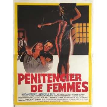CAGED WOMEN Movie Poster 15x21 in. - 1982 - Bruno Mattei, Laura Gemser