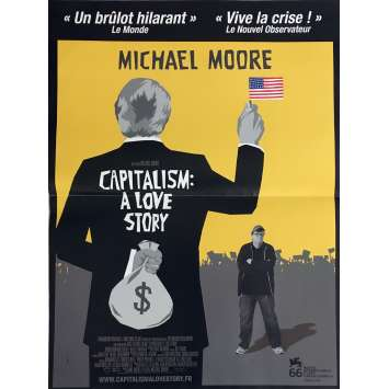 CAPITALISM A LOVE STORY Movie Poster 15x21 in. - 2009 - Michael Moore, Jimmy Carter