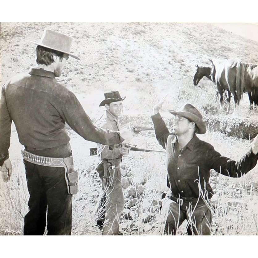 PENDEZ LES HAUT ET COURT Photo de presse N02 20x25 cm - 1968 - Clint Eastwood, Ted Post