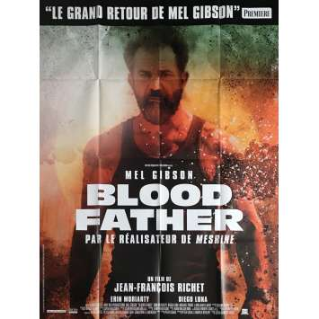 BLOOD FATHER Movie Poster 47x63 in. - 2016 - Jean-François Richet, Mel Gibson