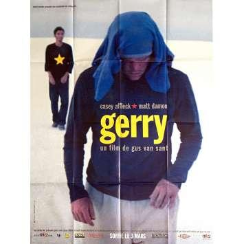 GERRY Affiche de film 120x160 cm - 2002 - Matt Damon, Gus Van Sant