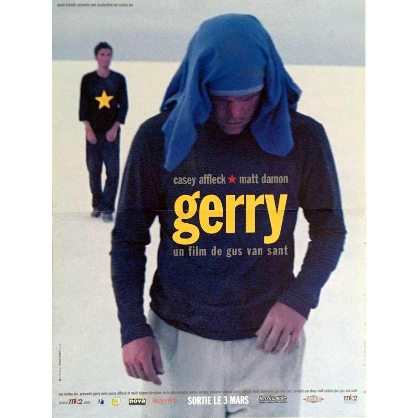 GERRY Affiche de film 40x60 cm - 2002 - Matt Damon, Gus Van Sant