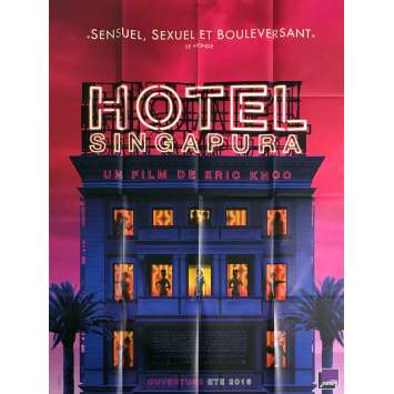 HOTEL SINGAPURA Movie Poster 47x63 in. - 2015 - Eric Khoo, Francis Bosco