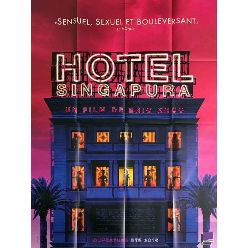 HOTEL SINGAPURA Affiche de film 120x160 cm - 2015 - Francis Bosco, Eric Khoo