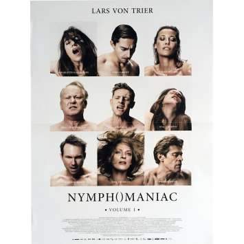 NYMPHOMANIAC Vol. 1 Movie Poster 15x21 in. - 2013 - Lars Von Trier, Charlotte Gainsbourg