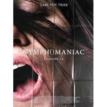 NYMPHOMANIAC Vol. 2 Affiche de film 120x160 cm - 2013 - Charlotte Gainsbourg, Lars Von Trier