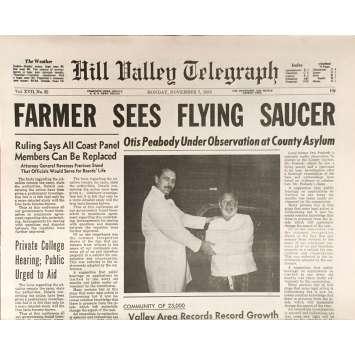 RETOUR VERS LE FUTUR Réplique EXACTE du Journal Local Farmer !