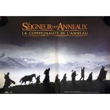 LE SEIGNEUR DES ANNEAUX Style C Affiche de film 40x60 - 2001 - Elijah Wood, Peter Jackson
