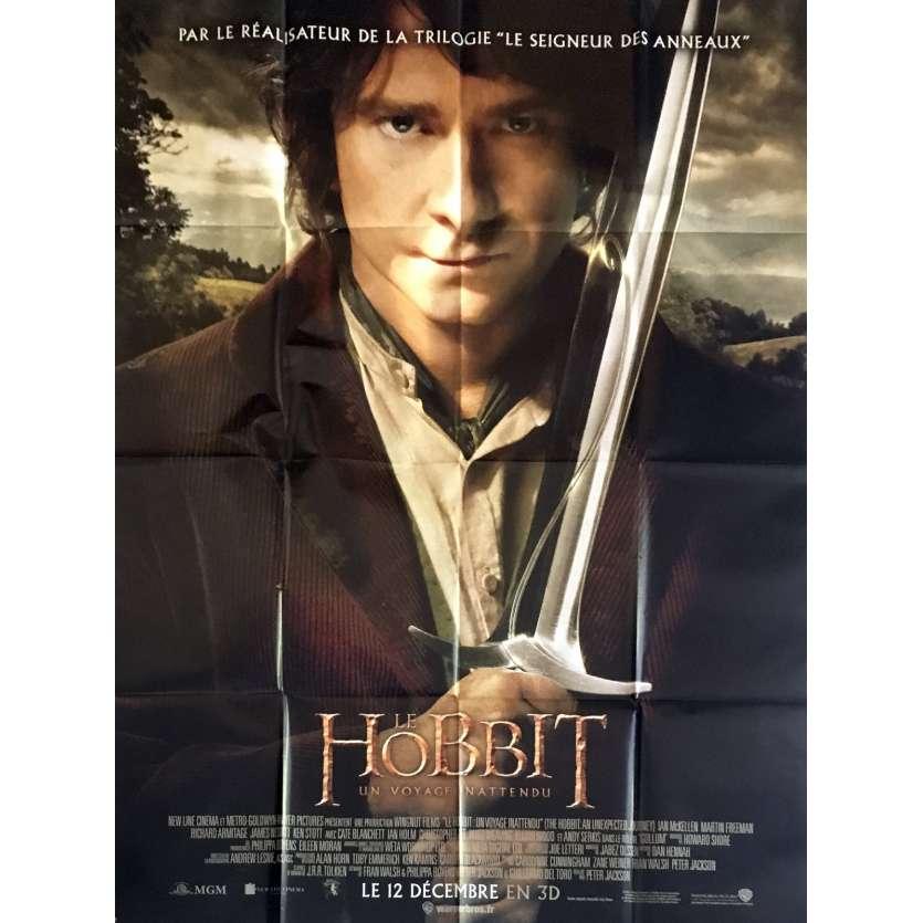 LE SEIGNEUR DES ANNEAUX - LE HOBBIT Affiche de film 120x160 - 2012
