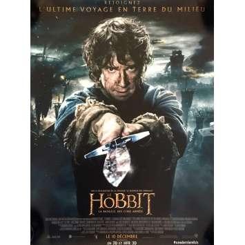THE HOBBIT 3 Mod. B French Movie Poster 15x21 - 2014 - Peter Jackson, Ian McKellen