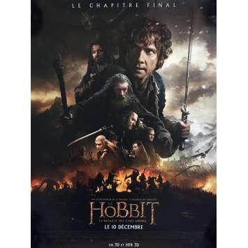 THE HOBBIT 3 Mod. A Affiche de film 40x60 - 2014 - Ian McKellen, Peter Jackson