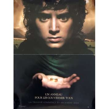 LORD OF THE RINGS French Advance Movie Poster 47x63 Peter Jackson