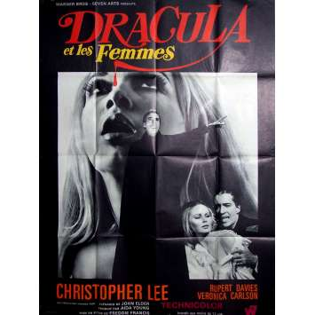 DRACULA HAS RISEN FROM THE GRAVE Movie Poster 47x63 in. - 1968 - Freddie Francis, Christopher Lee