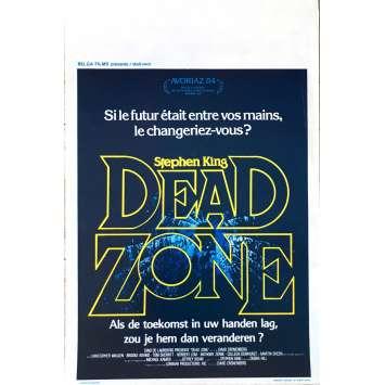 DEAD ZONE Movie Poster 14x21 in. - 1984 - David Cronenberg, Christopher Walken