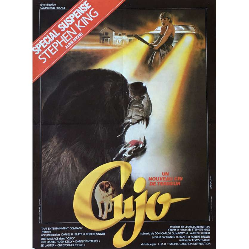 CUJO Movie Poster 15x21 in. - 1983 - Lewis Teague, Dee Wallace