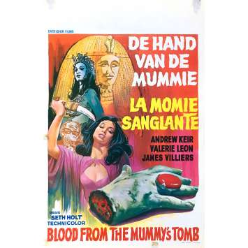 LA MOMIE SANGLANTE Affiche de film 35x55 cm - 1971 - Andrew Keir, Seth Holt