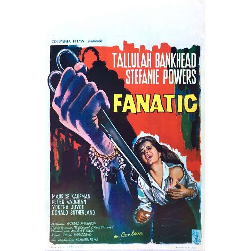DIE DIE MY DARLING Movie Poster 14x21 in. - 1965 - Silvio Narizzano, Tallulah Bankhead