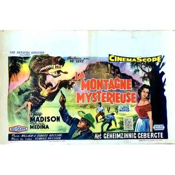 LA MONTAGNE MYSTERIEUSE Affiche de film 35x55 cm - 1956 - Guy Madison, Edward Nassour
