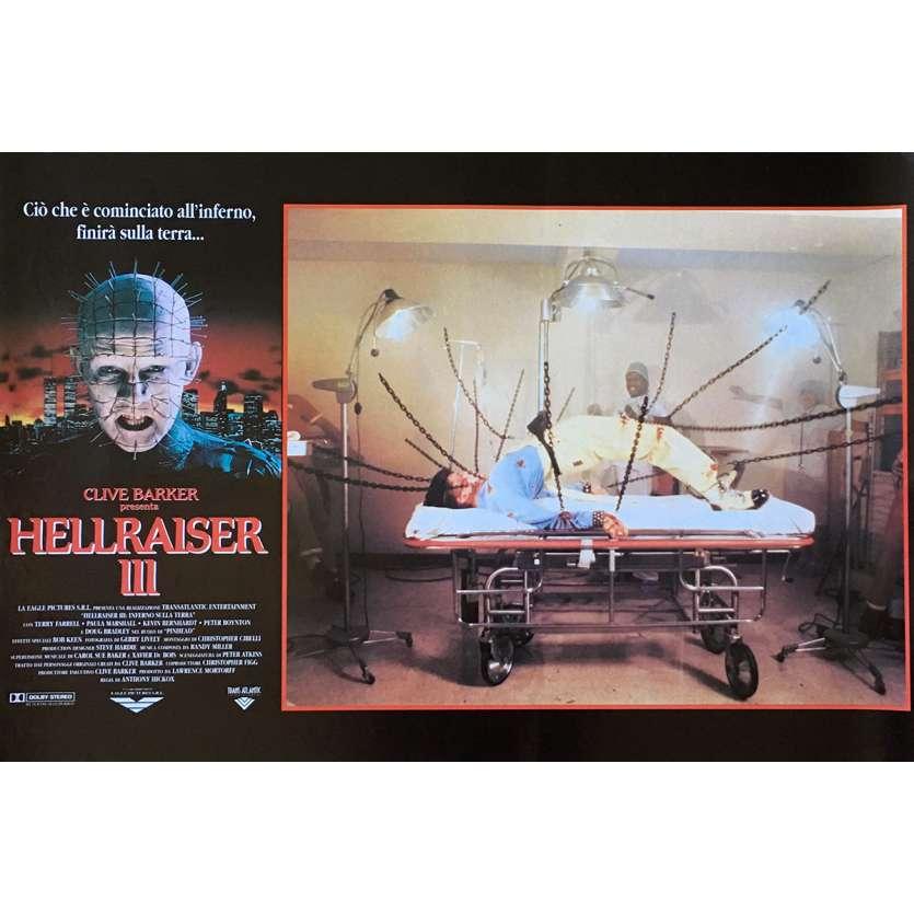 HELLRAISER III Photobusta N06 40x60 cm - 1992 - Doug Bradley, Anthony Hckox