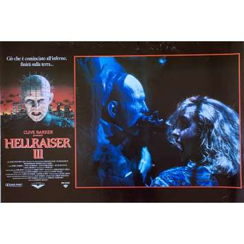 HELLRAISER III HELL ON EARTH Photobusta Poster N03 15x21 in. - 1992 - Anthony Hckox, Doug Bradley