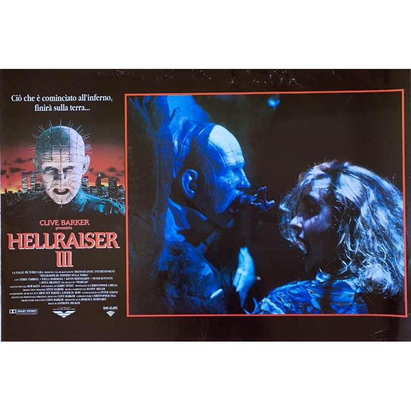 HELLRAISER III Photobusta N03 40x60 cm - 1992 - Doug Bradley, Anthony Hckox