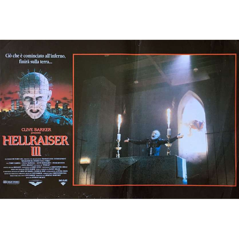 HELLRAISER III HELL ON EARTH Photobusta Poster N02 15x21 in. - 1992 - Anthony Hckox, Doug Bradley