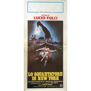 L'EVENTREUR DE NEW-YORK Affiche de film 33x71 cm - 1982 - Jack Hedley, Lucio Fulci