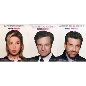 BRIDGET JONES'S BABY Movie Posters Adv. 15x21 in. - 2016 - Sharon Maguire, Renée Zellweger