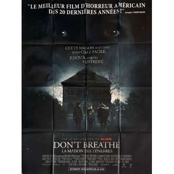 DON'T BREATHE Movie Poster 47x63 in. - 2016 - Fede Alvarez, Evil Dead Director !
