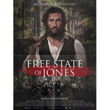 FREE STATE OF JONES Movie Poster 15x21 in. - 2016 - Gary Ross, Matthew McConaughey