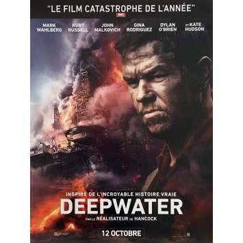DEEPWATER HORIZON Affiche de film 40x60 cm - 2016 - Peter Berg, Mark Whalberg