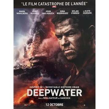 DEEPWATER HORIZON Movie Poster 15x21 in. - 2016 - Peter Berg, Mark Whalberg