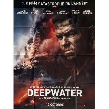 DEEPWATER HORIZON Affiche de film 120x160 cm - 2016 - Peter Berg, Mark Whalberg