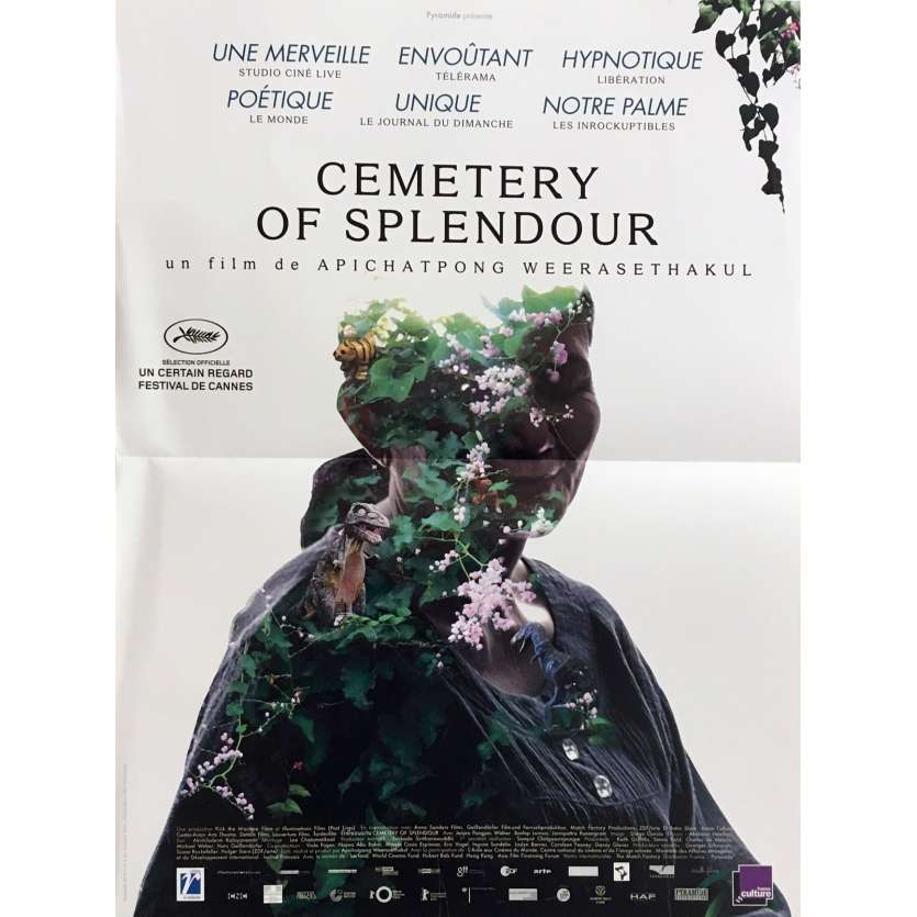 CEMETARY OF SPLENDOR Movie Poster 15x21 in. - 2016 - Apichatpong Weerasethakul, Jenjira Pongpas