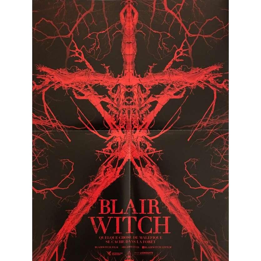 BLAIR WITCH Affiche de film 40x60 cm - 2016 - Adam Wingard, James Allen McCune