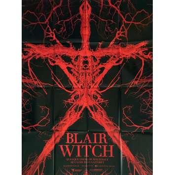 BLAIR WITCH Affiche de film 120x160 cm - 2016 - Adam Wingard, James Allen McCune