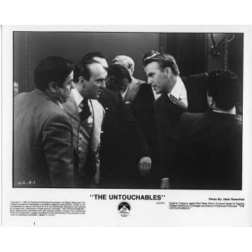 LES INCORRUPTIBLES Photo de Presse N3 US 1987 Kevin Costner, De Palma