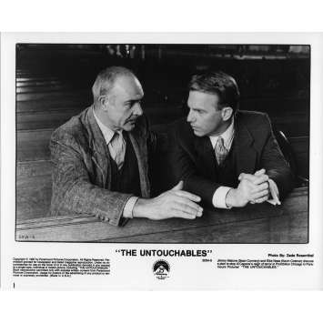 LES INCORRUPTIBLES Photo de Presse N5 US 1987 Kevin Costner, Sean Connery