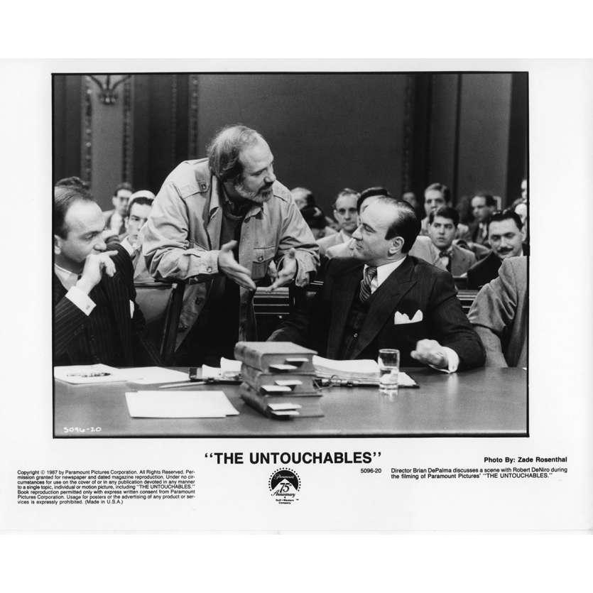 LES INCORRUPTIBLES Photo de presse N12 20x25 cm - 1987 - Kevin Costner, Brian de Palma