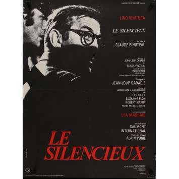 THE SILENT ONE Movie Poster 23x32 in. - 1973 - Claude Pinoteau, Lino Ventura
