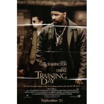 TRAINING DAY Movie Poster 23x32 in. - 2001 - Antoine Fuqua, Denzel Washington