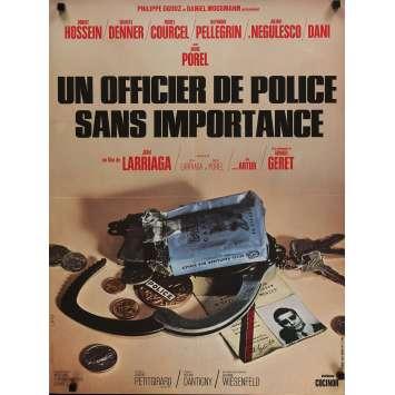 UN OFFICIER DE POLICE SANS IMPORTANCE Affiche de film 60x80 cm - 1973 - Charles Denner, Jean Larriaga