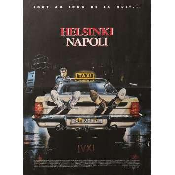 HELSINKI NAPOLI Movie Poster 15x21 in. - 1987 - Mika Kaurismaki, Kari Vaananen