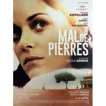 MAL DE PIERRES Affiche de film 40x60 cm - 2016 - Marion Cotillard, Nicole Garcia